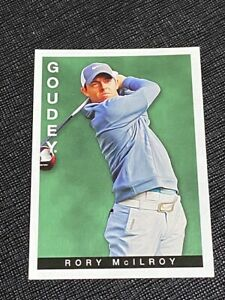 2015 Goodwin Champions Rory McILRoy Goudey Insert Card