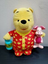 2007 Fisher Price Mattel Disney Talking Pooh Bear 11""