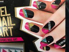 Gel Nail Art Nail Decals Nail Transfers Wraps Stick on Nail Gels diamante BOGOF