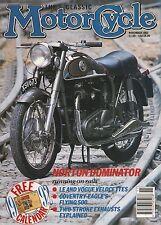 Norton Dominator  Velocette LE & Vogue  EMC International Coventry Eagle 11/1991