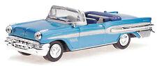 Pontiac Bonneville Baujahr 1957 blau Maßstab 1:43 von NewRay
