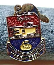Curling Pin - Royal Canadian Legion Calgary Alberta 154