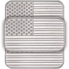 American Flag Bar by Silvertowne 1oz .999 Silver Bar (3pc)