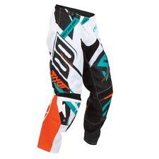 SHOT race gear RACEWAY motocross MENS pants size 28 orange/mint AOF-11B1-B05-28