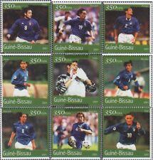 Guinée-bissau 1379-1387 neuf avec gomme originale 2001 Football-WM 2002