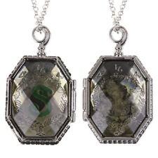 Harry Potter Prop Slytherin Horcrux Locket Pendant Necklace Lord Voldermort Gift
