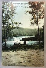 1924 Middle Falls Scott Highway PORT ARTHUR ONTARIO Postcard Vintage Original