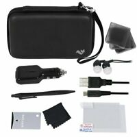 ButterFox 12-in-1 Accessory Travel Pack / Case For New Nintendo 2DS/3DS XL-Black
