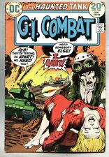 G.I. Combat #168-1974 fn+ GI Neal Adams Sam Glanzman Haunted Tank