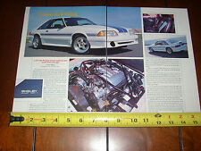 1992 SHELBY AAC MK I SAAC FORD MUSTANG - ORIGINAL ARTICLE