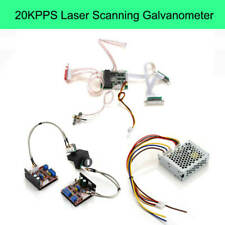 20KPPS 30KPPS Laser Scanning Galvo Scanner+Control For Light Show Stage Lighting