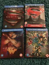 Batman Superman Wonder Woman Suicide Squad Blu Ray Steelbooks DC Rare