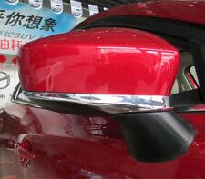Rearview Mirror Strips For Mazda2 Mazda3 2 3 Chrome Cover Trims Accessories