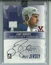 ITG Superlative Vault Gary Roberts Auto Autograph 2 Color Jersey Card 1 of 1