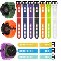 Wristband Silicone Watch Strap Band For Garmin Fenix 5/5X Plus Forerunner 935