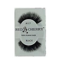 Künstliche Red Cherry Wimpern & -kleber