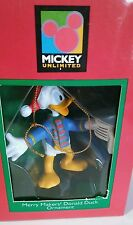Mickey Unlimited Merry Makers! Donald Duck Ornament Mouse Club Clubhouse Rare