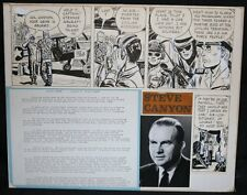 Steve Canyon Syndicate Promo with Strip - 12/16/1964 art by Milton Caniff