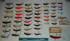 BEAUTIFUL HELIN FLATFISH COLLECTION 55 LURES many colours,many vintage fishing