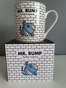 Mr Men Little Miss Mr Bump Tea Coffee Mug Ceramic Roger Hargreaves New Boxed