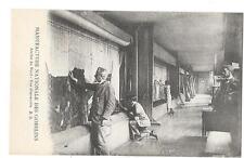 PARIS (75) manufacture de tapisseries des Gobelins intérieur atelier du Nord