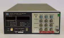 SYSTEM VOLTMETER HEWLETT PACKARD 3437A