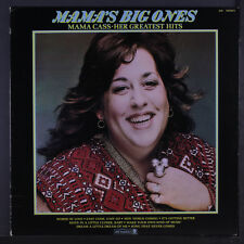 MAMA CASS: Mama's Big Ones LP (black label w/ multicolored logo, light razor ma