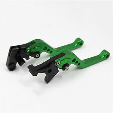 Green CNC Short Brake and Clutch LEVERs for Honda CB1000R 2008 09 10 2011 2012