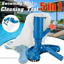 Pool & Spa Jet Vacuum w/ Brush, Bag Cleaning Tool Accessories Supplies