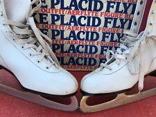Women's Lake Placid Figure Skates Model 683 White Size 9 in Original Box!