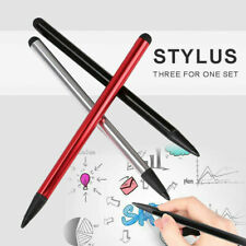 3Pcs 2 in 1 Capacitive Touch Screen Stylus Pen for iPad iPhone Samsung Universal