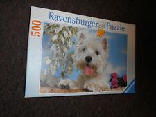 RAVENSBURGER 'West Highland White Terrier' 500 Piece Puzzle