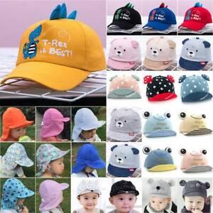 Cute Carton Infant Toddler Kids Baby Caps Summer Sun Hats Cotton Baseball Cap