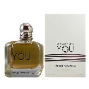 Emporio Armani Because It's You 3.4 oz Eau De Parfum Spray
