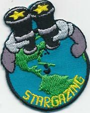 Girl Boy Cub STAR GAZING WORLD Fun Patches Crests Badges SCOUT GUIDE viewing