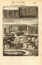 PERSIA (IRAN). Ruines de Chehel Minar (Takht-e Jamshid) ; Ruins. MALLET 1683