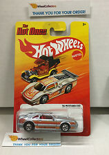 '84 Mustang SVO * Silver * The Hot Ones * Hot Wheels * W8