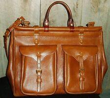 Handmade  Grip Satchel Travel/Carry On Bag