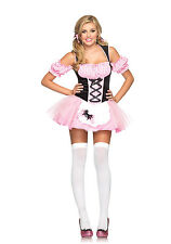 Sexy Halloween Adulto Leg Avenue Para Mujer Gingham Miss Muffet Disfraz W Tutu Falda