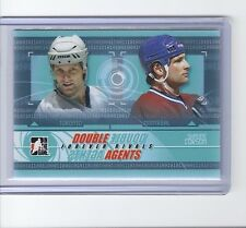 2012-13 IN THE GAME FOREVER RIVALS SHAYNE CORSON ITG DOUBLE AGENTS CANADIENS