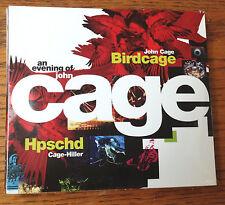 TWO Rare JOHN CAGE CDs, HPSCHD & BirdCage
