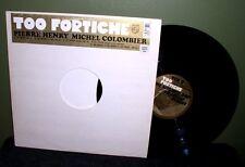 "Pierre Henry/Michel Colombier ""Too Fortiche"" 12"" OOP vinyl Mighty Bop Tek 9"