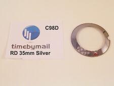 Per RADO Coupole Silver Orologio di ricambio x grandi in vetro cristallo 35mm PART C98D