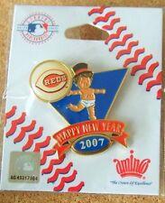 2007 Cincinnati Reds Baby New Year's lapel pin