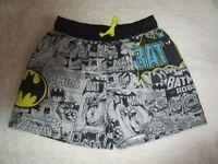 Boys Size 8  Batman  short length swim   board shorts