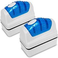 Magnetic Fish Tank Brush Aquarium Glass Cleaner Algae Magnet Cleaning Tool-2PCS