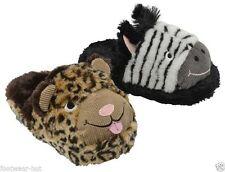 Animal Print Novelty Textile Slippers for Women