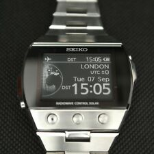 Seiko Brightz Active Matrix EPD Electronic Ink Watch Luxury Watch SDGA001 Boxed