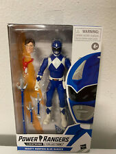 Power Rangers Mighty Morphin Blue Ranger Lightning Collection 6-Inch Figure New!
