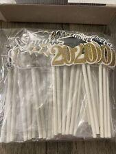 Lot of Graduation Cupcake Toppers 72 Pcs